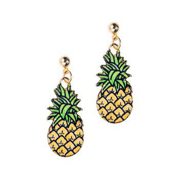 Embellished Pineapple Earrings