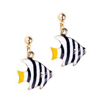 Embellished Fish Earrings