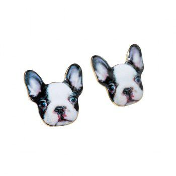 3D Puppy Earrings