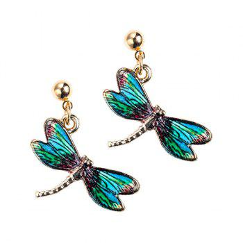 Embellished Dragonfly Earrings