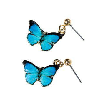 Embellished Butterfly Earrings