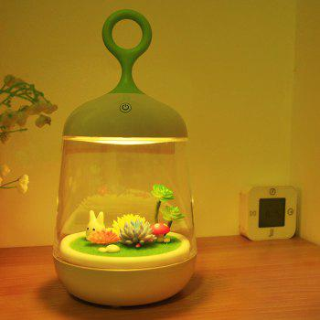 DIY Micro Landscape Colorful LED Night Light