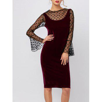Velvet Slimming Tank Dress