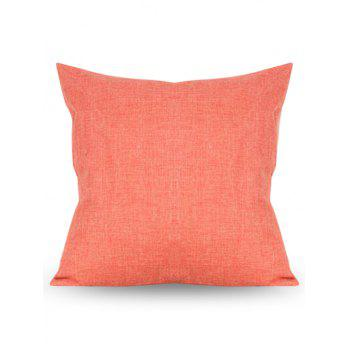 Solid Color Design Square Pillow Case