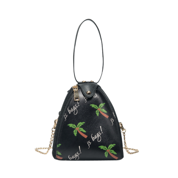 Palm Print Crossbody Wristlet Bag