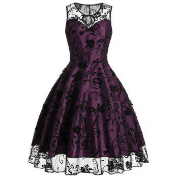 Cool  Eavan Black Lace Fit Amp Flare Dress  379  Apparel For Women  252600