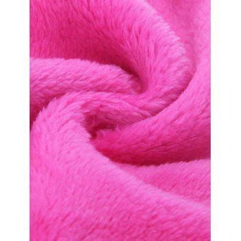 2 Pcs Microfiber Makeup Remover Cloth -  ROSE RED