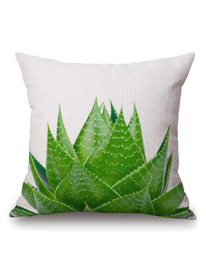 Aloe Plant Sofa Cushion Throw Pillow Case от Dresslily.com INT