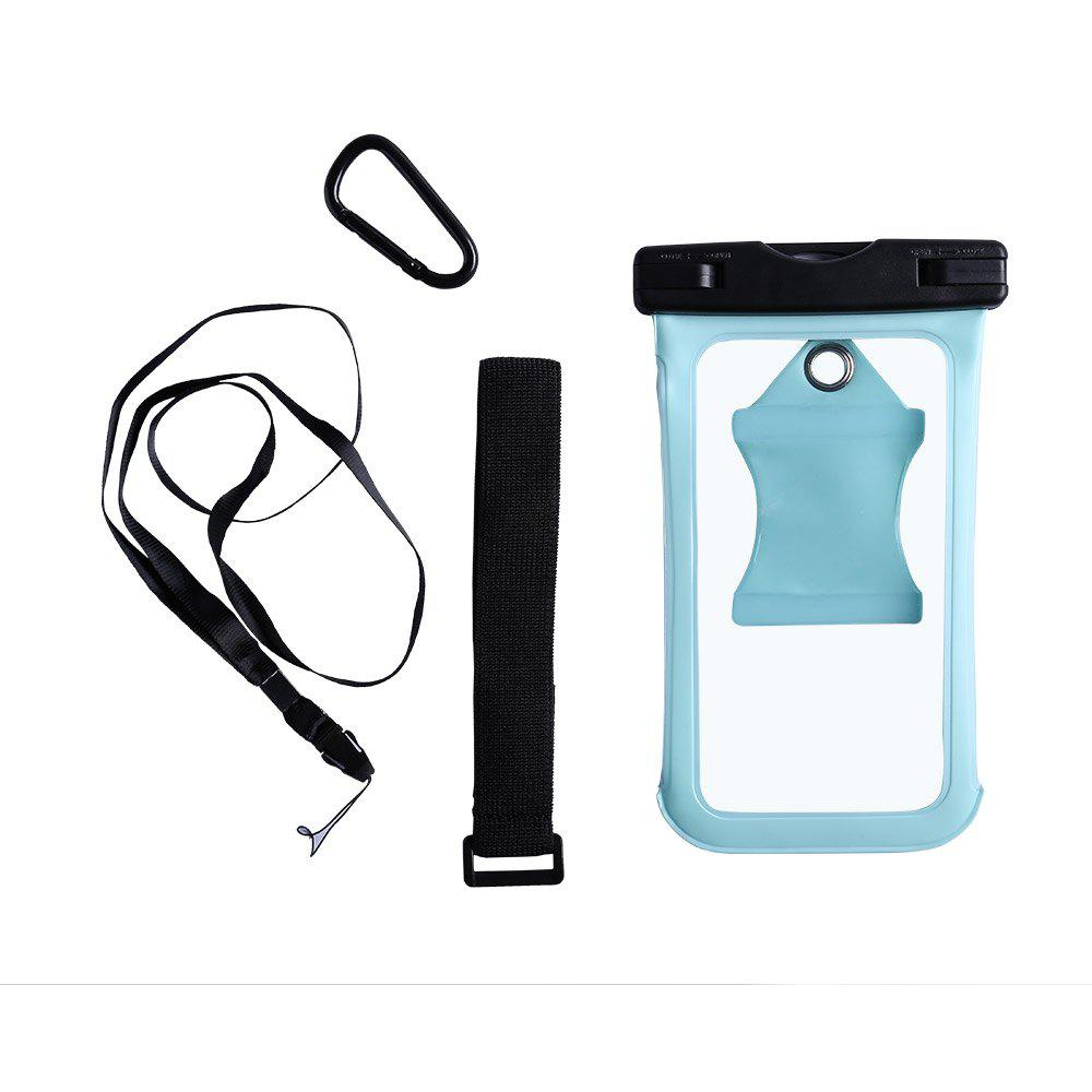 Water Resistant Mobile Phone Case with Arm Band - CYAN