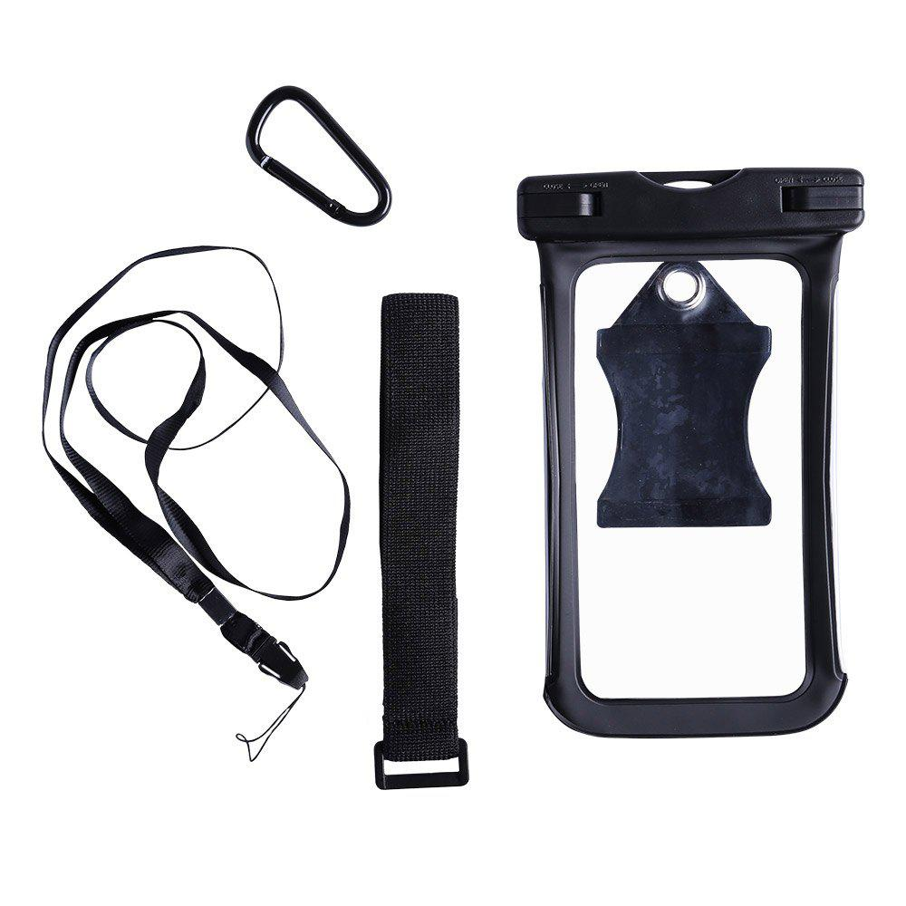 Water Resistant Mobile Phone Case with Arm Band - BLACK