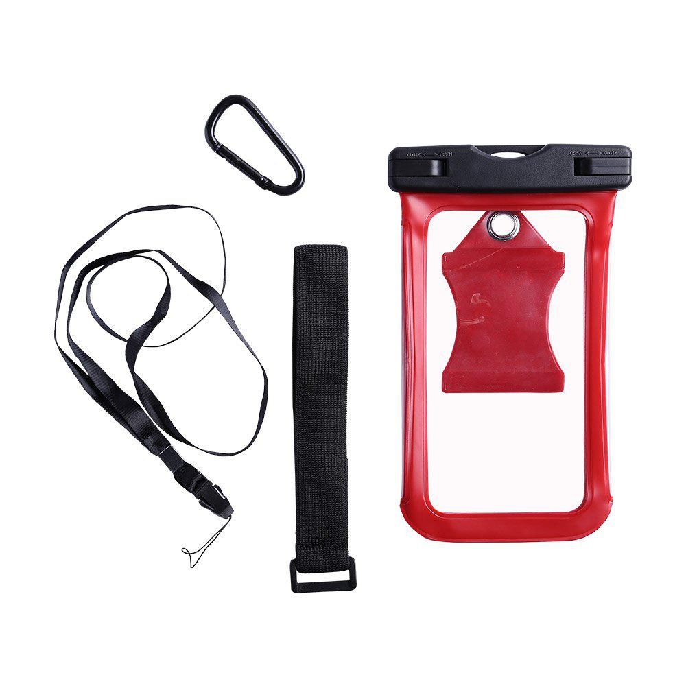 Water Resistant Mobile Phone Case with Arm Band - RED