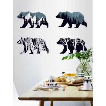 Removable Bear Tree Wall Sticker