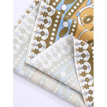 Cercle imprimé floral plage Throw couverture - Terreux ONE SIZE
