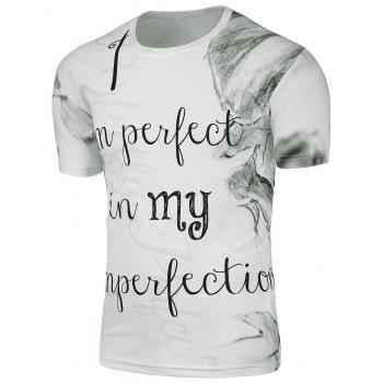 Ink Painted Graphic T-Shirt