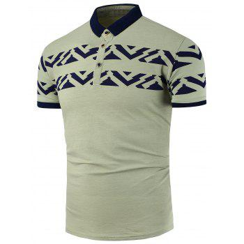 Slim Fit Printed Polo Shirt