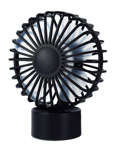 Summer Cooler USB Mute Mini Desk Fan - BLACK