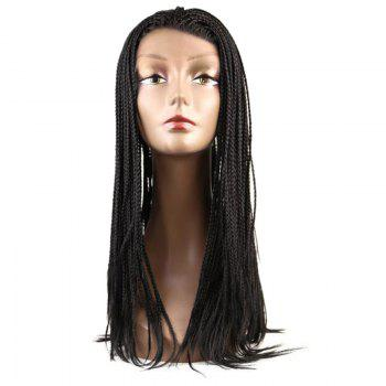 Box Braids Long Lace Front Synthetic Wig