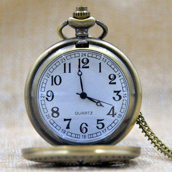 Carved 111 Vintage Pocket Watch -  COPPER COLOR