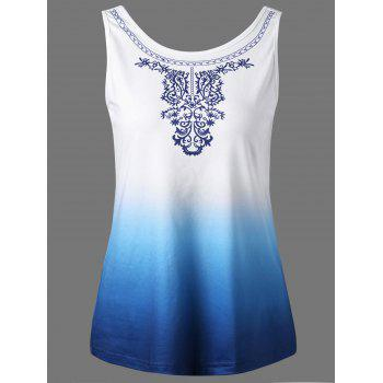 Ombre Sleeveless T-Shirt