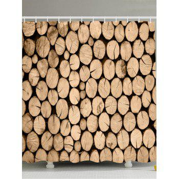 Mouldproof Eco-Friendly Wood Shower Curtain