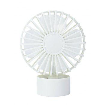 Summer Cooler USB Mute Mini ventilateur de bureau - Blanc