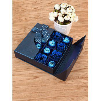 1 Box 16 Grids Artificial Soap Rose Mother's Day Gift