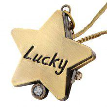 Lucky Star Vintage Pocket Watch