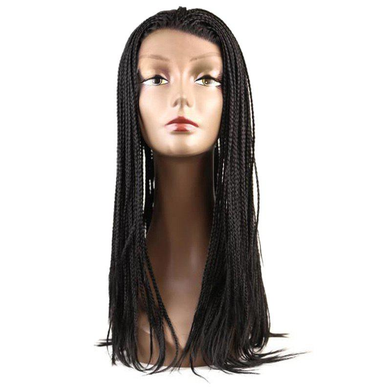 Box Braids Long Lace Front Synthetic Wig lace box braids wig synthetic black hair
