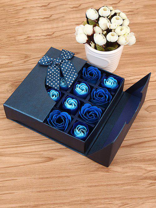 1 Box 16 Grids Artificial Soap Rose Mother's Day Gift - ROYAL