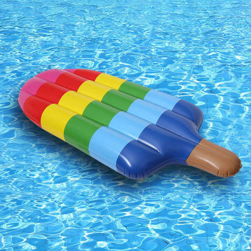 Inflatable Popsicle Float Bed - COLORFUL