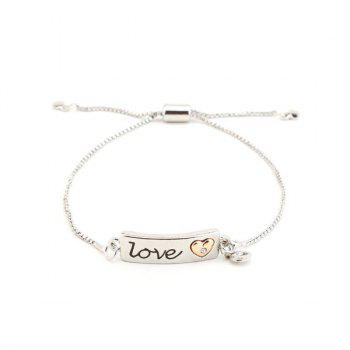 Heart Love ID Bracelet