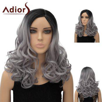 Adiors Long Colormix Side Part Wavy Synthetic Wig