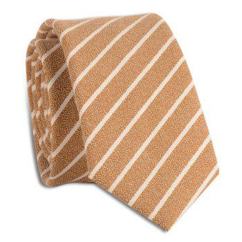 Pinstripe Diagonal Lines Tie - GINGER GINGER