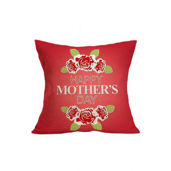 Floral Mother's Day Pillowcase