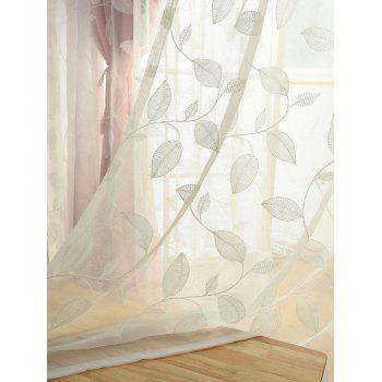Princess Double Layers Shading Window Curtain - PINK W42INCH*L63INCH