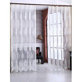 Door Window Balcony Screen Sheer Voile Tulle Curtain
