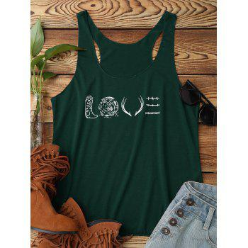 LOVE Graphic Tank Top