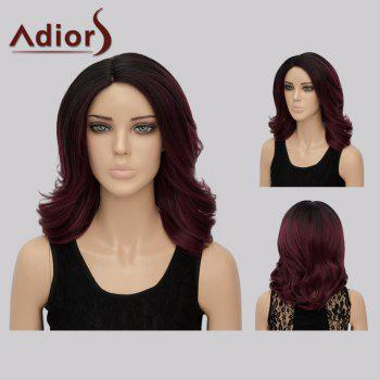 Adiors Long Colormix Side Part Tail Upwards Synthetic Wig