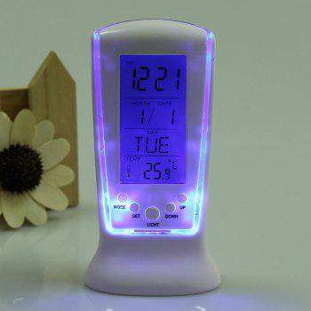 Multifunction LCD Digital Alarm Clock