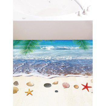 3D Starfish Beach Floor Sticker