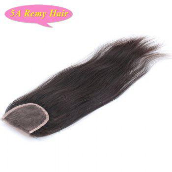 3 Pcs/Lot With Closure Fashionable Natural Black Free Part Straight Women's 5A Indian Remy Hair Weave - 10INCH*10INCH*10INCH*CLOSURE 10INCH 10INCH*10INCH*10INCH*CLOSURE 10INCH