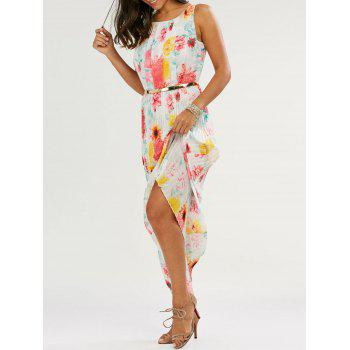 Floral Print Casual Long Summer Dress