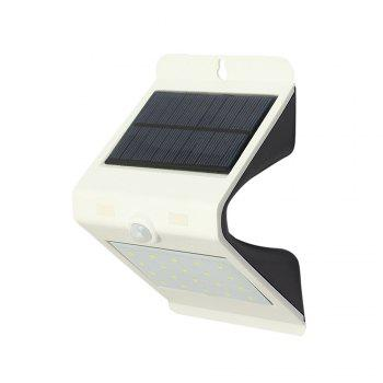 LED Waterproof Solar Powered Motion Sensor Wall Lamp