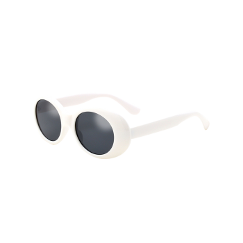 Retro Anti UV Windbreak Oval Sunglasses