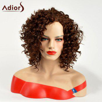 Adiors Medium Shaggy Curly Synthetic Wig