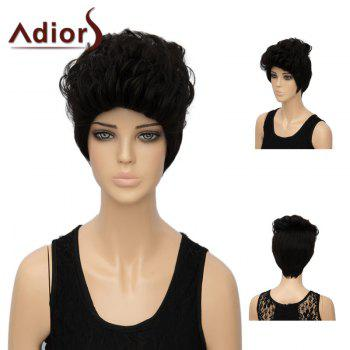 Adiors Short Straight Layered Synthetic Wig