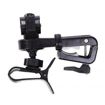 360 Degree Rotation 2 in 1 Multifunctional Bicycle Holder - BLACK BLACK