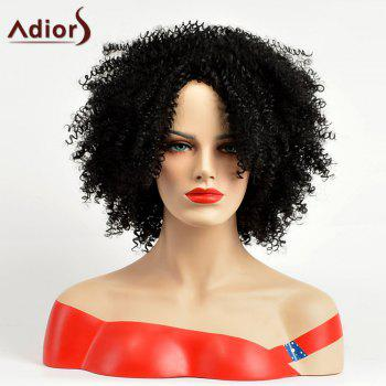 Adiors Fluffy Afro Curled Medium Synthetic Wig