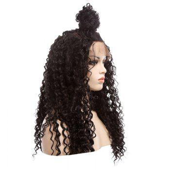 Longue perruque synthétique Fluffy Curly Lace Front Synthetic - A
