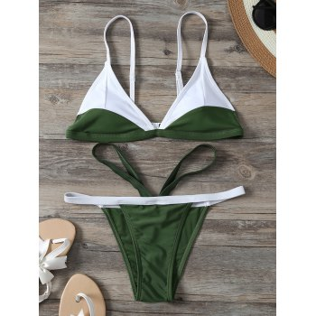 Two Tone Bikini with Padding
